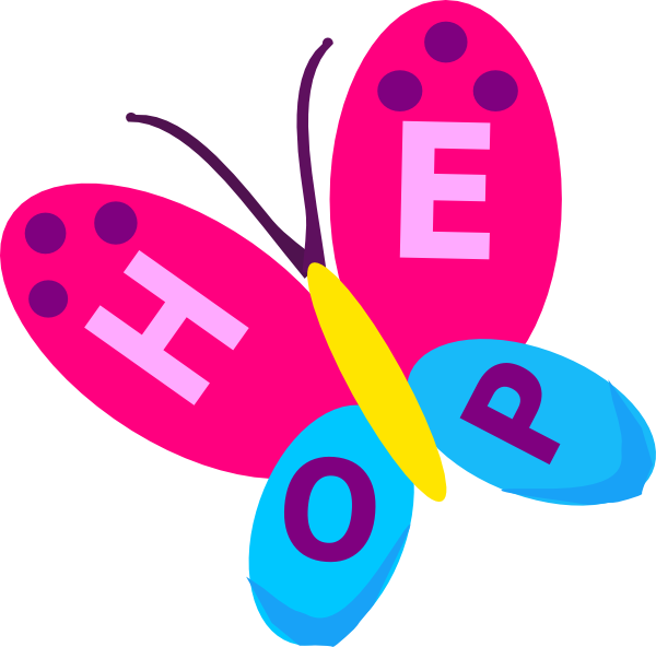 hope butterfly clip art at clker com vector clip art online rh clker com home clip art free home clip art images free
