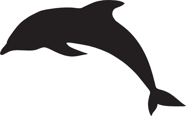 large dolphin clip art at clker com vector clip art online rh clker com dolphin clip art for kids dolphin clipart black and white