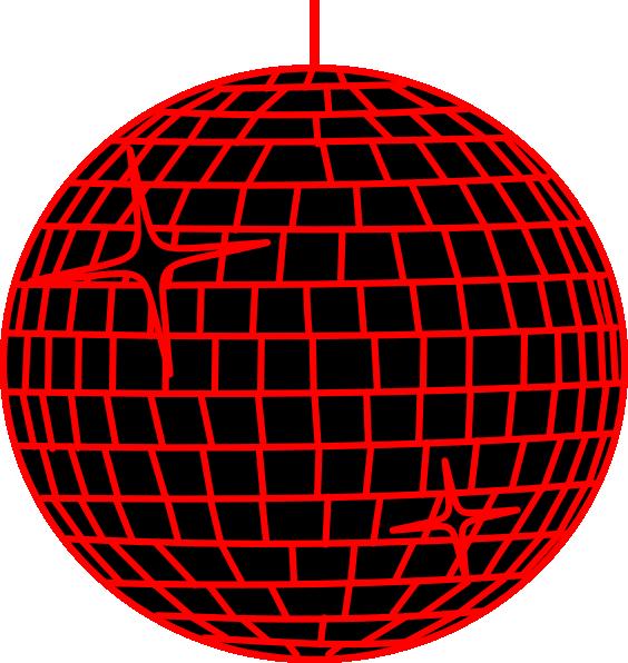 red disco ball clip art at clker com vector clip art online rh clker com disco ball clipart png disco ball clip art free
