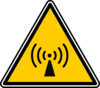 Warning - Wireless Zone Clip Art