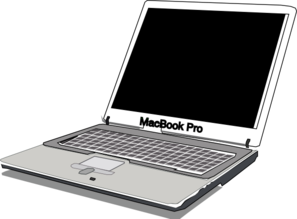 Macbook Pro Clip Art