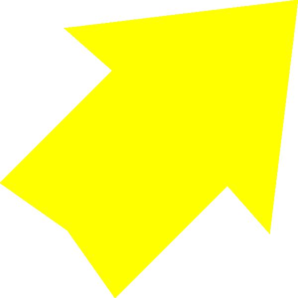 Right Up Yellow Arrow Clip Art At Vector Clip