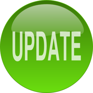 Green Update Button Clip Art
