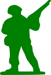 Green Soldier Clip Art