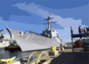 The Guided Missile Destroyer Uss Lassen Ddg 82 Gets Underway Clip Art