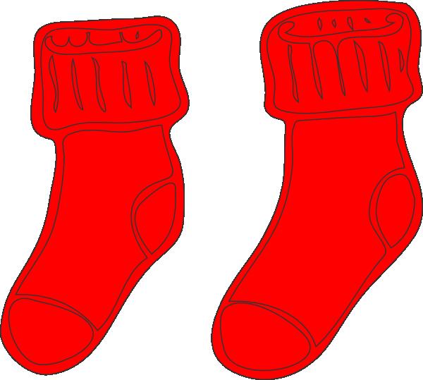 Socks Clip Art at Clker.com - vector clip art online, royalty free ...