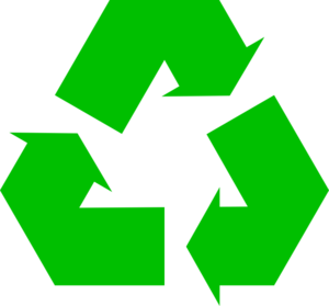 Green Recycle Symbol Clip Art