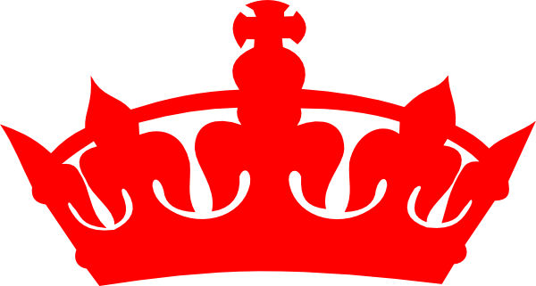 red crown clipart - photo #1