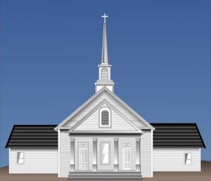 White Church Clip Art