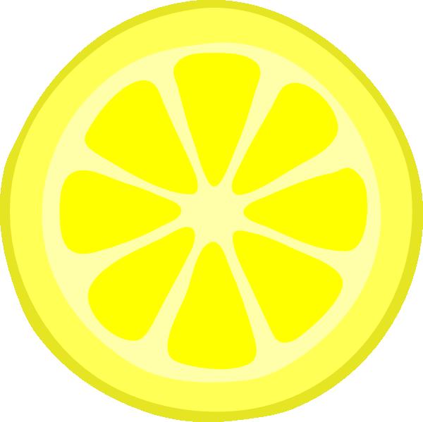 free clip art lemon slice - photo #1