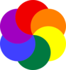 Rainbow Of Colors Clip Art