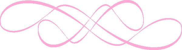 swirl design pink clip art at vector clip art online