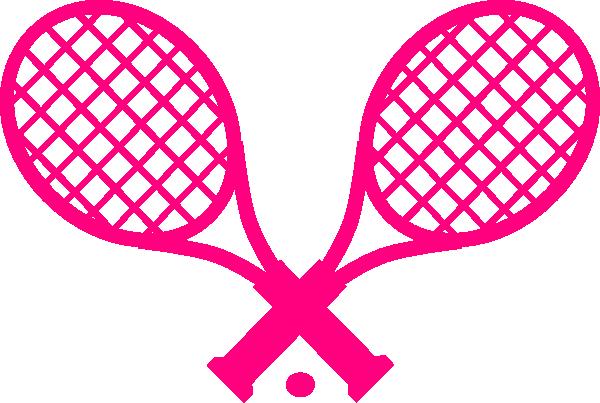 pink tennis racquet clip art at clker com vector clip art online rh clker com Tennis Player Clip Art Court Tennis Racket Clip Art