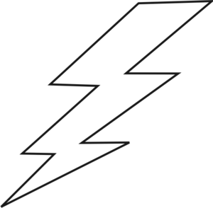 Lightning Bolt Clip Art