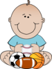 Sports Baby Clip Art
