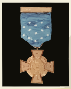 The 1917   1918 Medal Of Honor Design Commonly Called The Tiffany Cross Comes From The Medal Being Originally Designed By The Famous Jewelers Tiffany And Company Of New York Clip Art