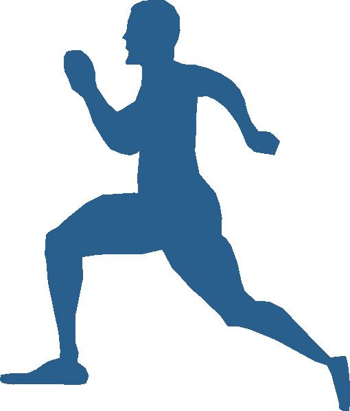 Running Man Clip Art at Clker.com - vector clip art online ...