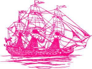 Raspberry Ship2 Clip Art