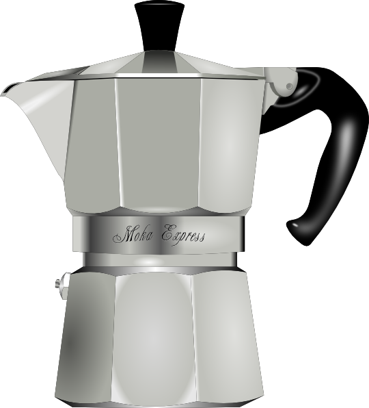 Clip Art Coffee Maker ~ Coffee maker clip art at clker vector