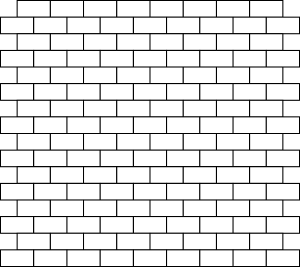 White Bricks Clip Art at Clker.com - vector clip art online, royalty ...