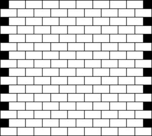 White Bricks Clip Art At Clker Com Vector Clip Art