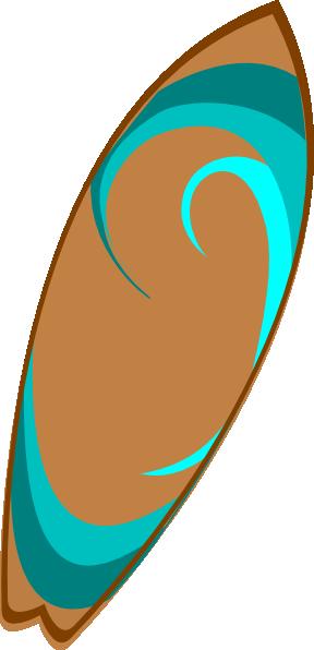 Surfboard Clip Art at Clker.com - 34.6KB