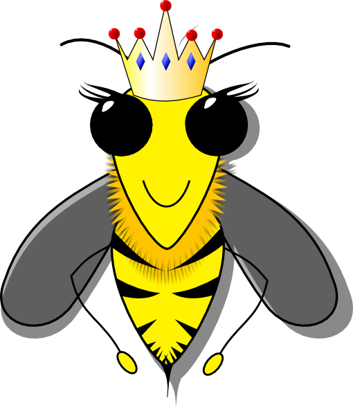 Queen Bumble Bee Clip Art at Clker.com vector clip art online ...