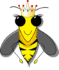 Queen Bumble Bee Clip Art
