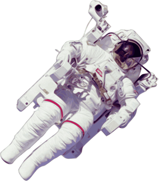 astronauts in space clipart - photo #37