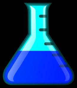 Blue    Flask    Clip Art at Clker  vector clip art online