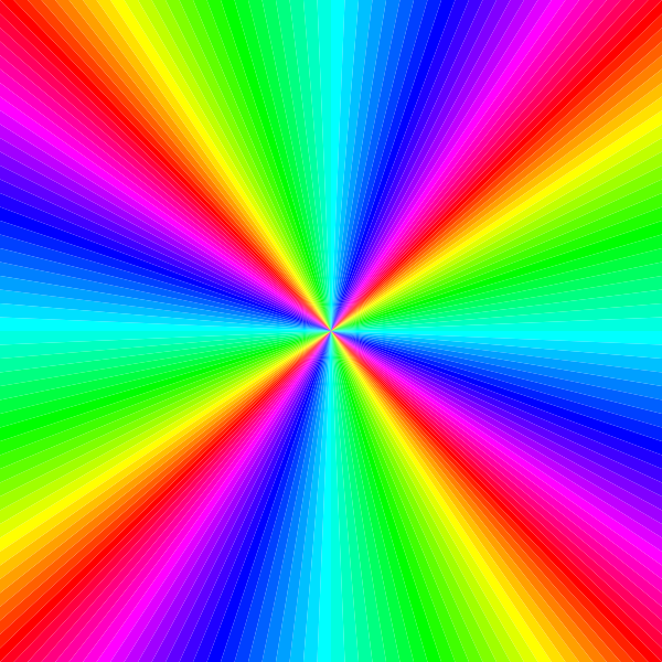 Colorful square png rainbow color square clip art