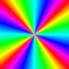 Rainbow Color Square Clip Art