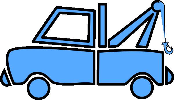 blue tow truck clip art at clker com vector clip art online rh clker com Red Tow Truck Clip Art tow truck clip art images