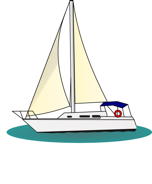 PNG small  medium  large  Yacht Clipart Png