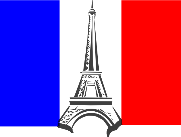flag france clip art at clker - vector clip art online, royalty