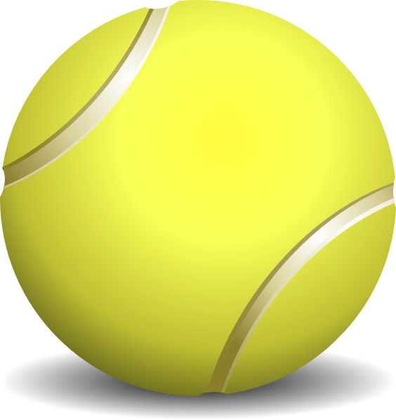 Tennis Ball Clip Art at Clker.com - vector clip art online, royalty ...