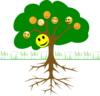 Smileytree Clip Art