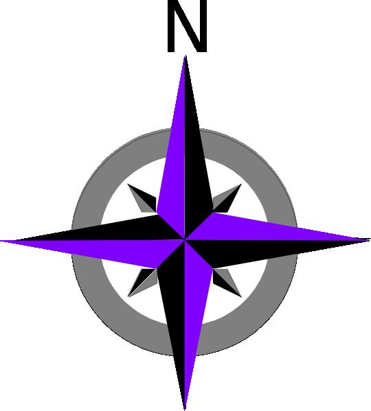 Rose Compass Clip Art at Clker.com - vector clip art online, royalty ...