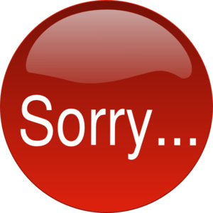 sorry clip art at clker com vector clip art online our apologies clipart apology clip art png