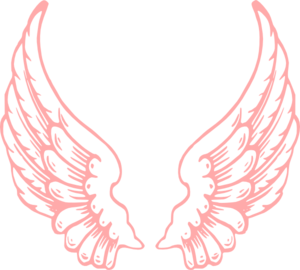 Pink Wings Clip Art