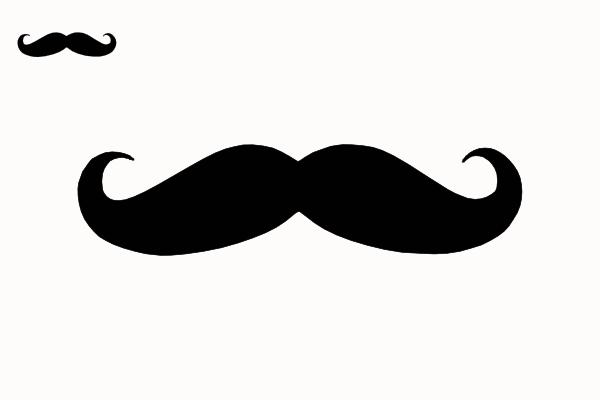 free vector mustache clip art - photo #1