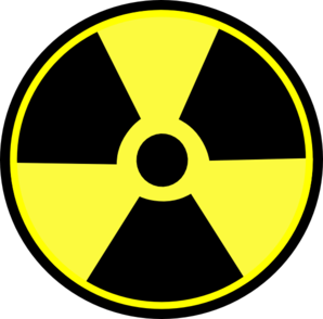 Radioactive Without White Blob Clip Art