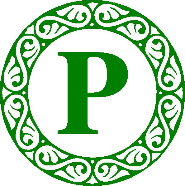 P Circle Clip Art At Clker Vector Clip Art Online Royalty