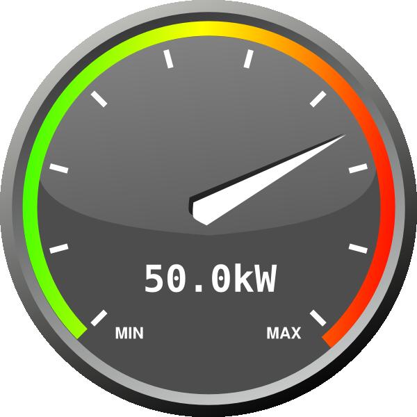 Power Meter Clip Art : Power meter full clip art at clker vector