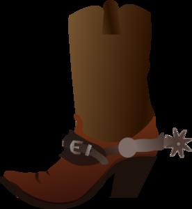 cowboy boot clip art at clker com vector clip art online royalty rh clker com cowboy boots clipart cowboy boot clipart black and white