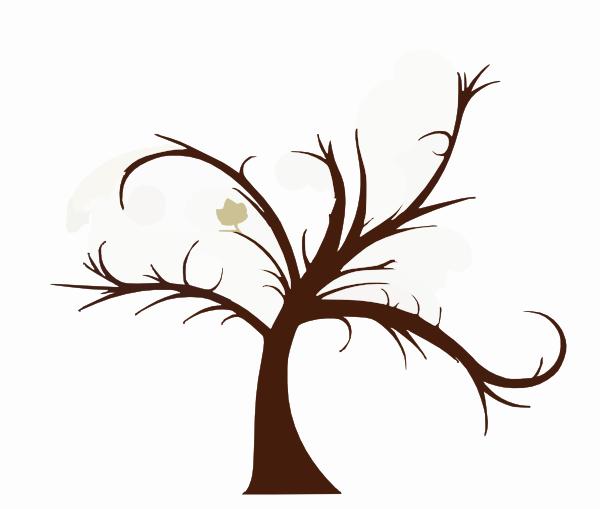 Wedding Tree Vector: Clipart Tree Std Clip Art At Clker.com