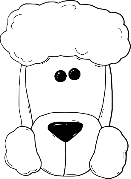 Poodle Head Silhouette Downloads