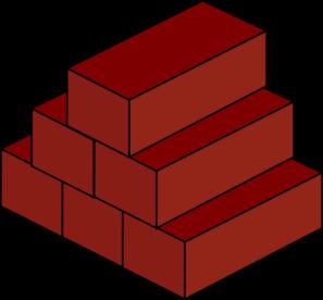 Brick Icon Clip Art at Clker.com - vector clip art online, royalty ...: www.clker.com/clipart-brick-icon.html