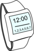 Hand Watch Clip Art