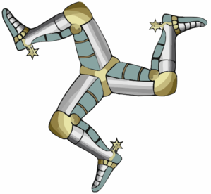 Three Legs Of Man Triskelion Clip Art